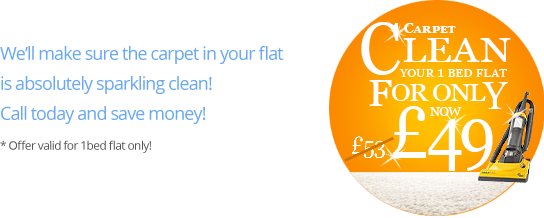 Special Prices for Carpet Cleaning