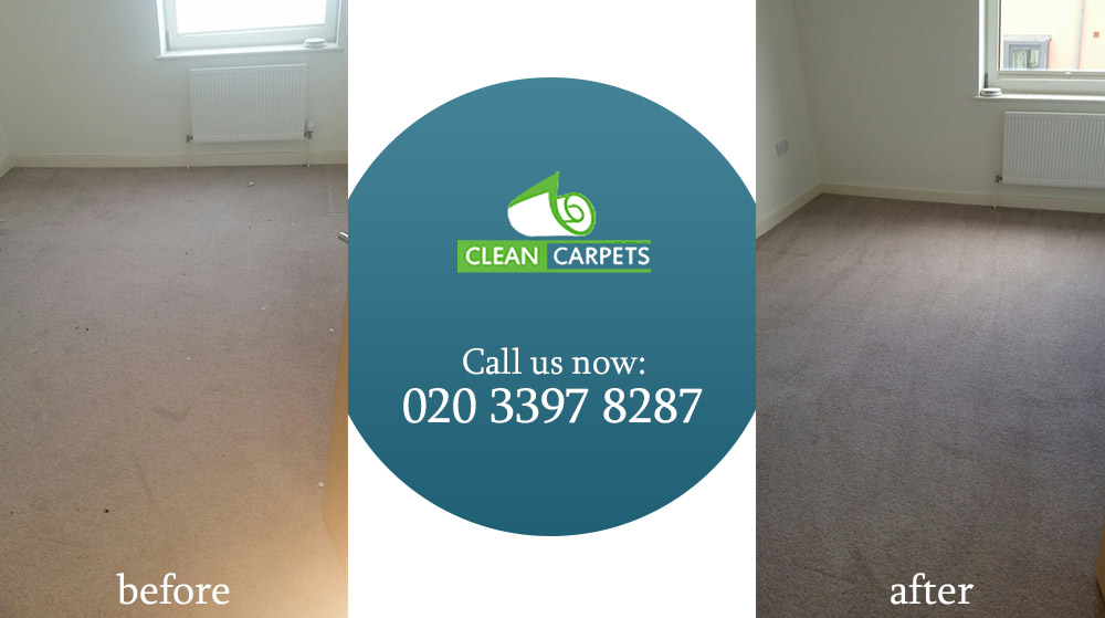 Dry Steam Carpet Cleaning Service in London