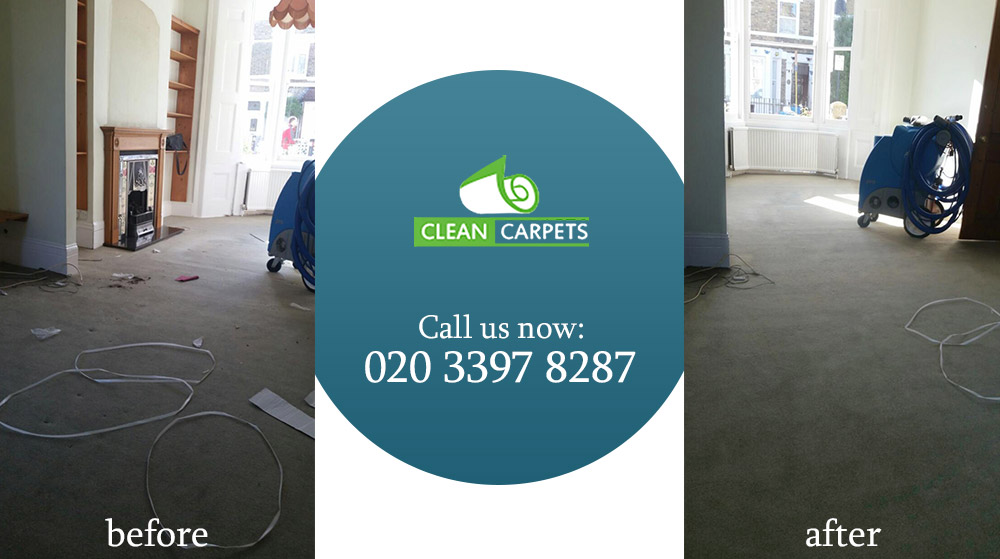 E14 carpet cleaning Canary Wharf