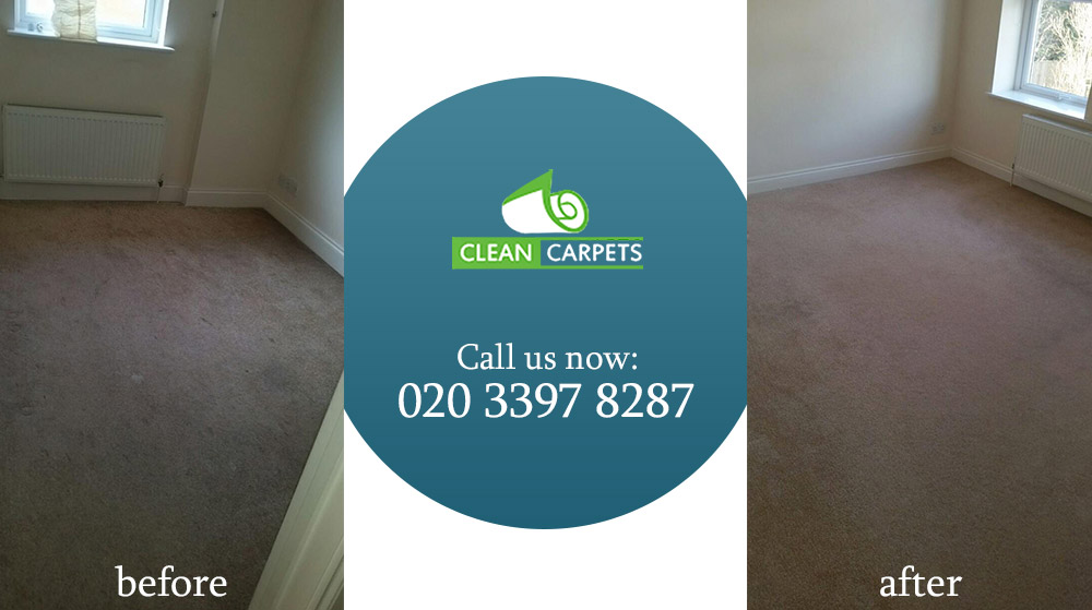 Colliers Wood cleaning sofa