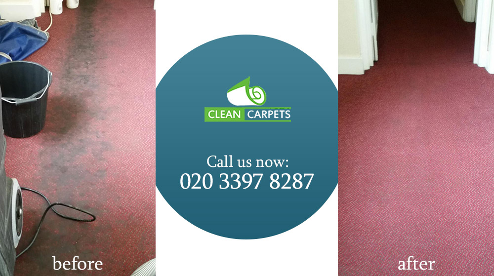 Oval dry cleaning carpets SW9