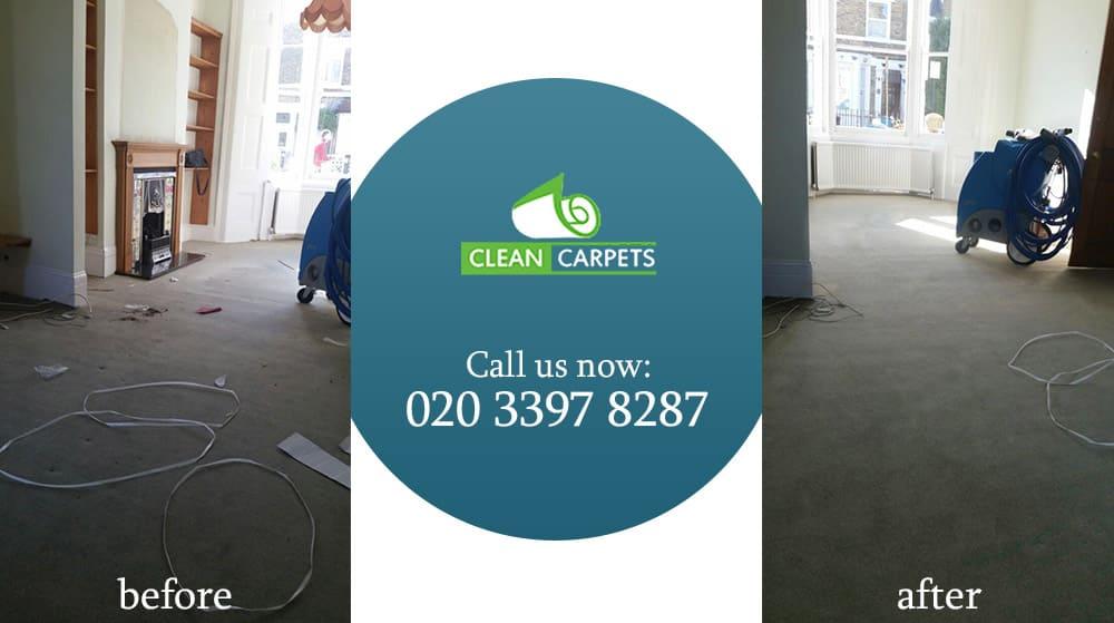 Kensington carpet cleaning W8