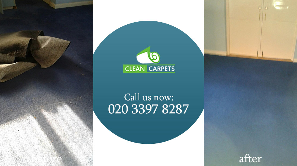 Wormwood Scrubs carpet cleaners W12