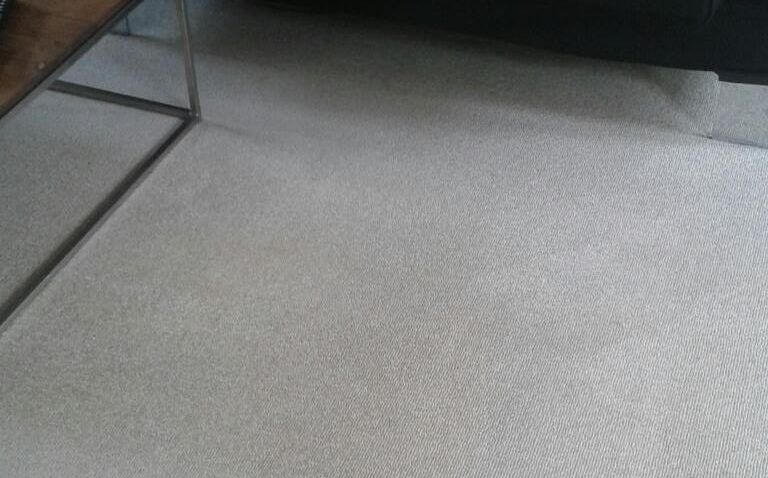 cleaning a carpet stain West Green