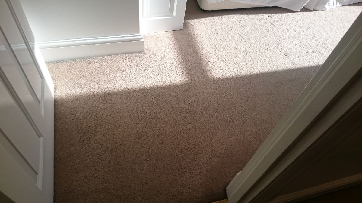cleaning a carpet stain St Helier