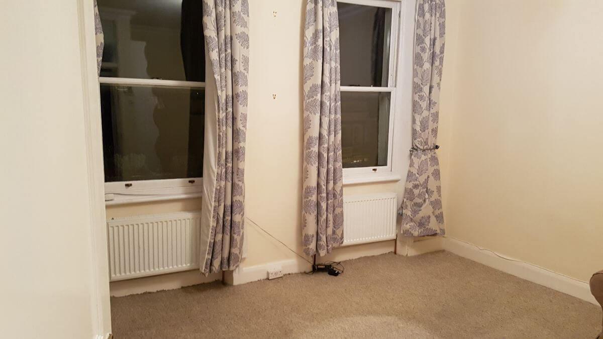 steam clean sofa Clapham