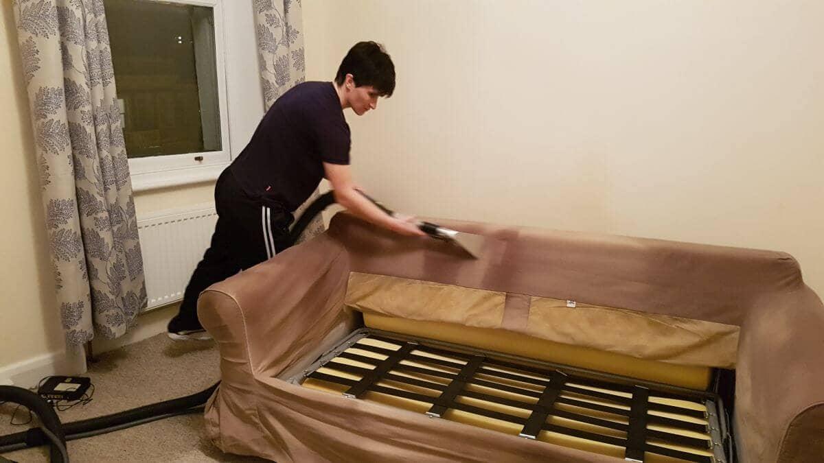 steam clean sofa Belgravia