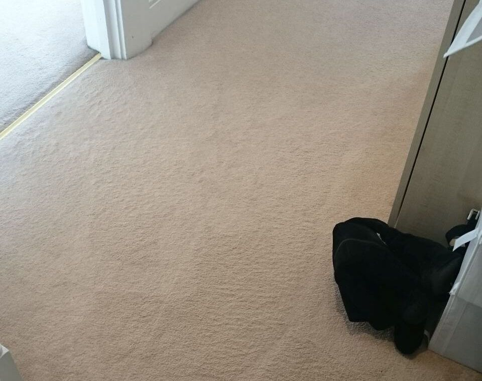 cleaning a carpet stain Cudham