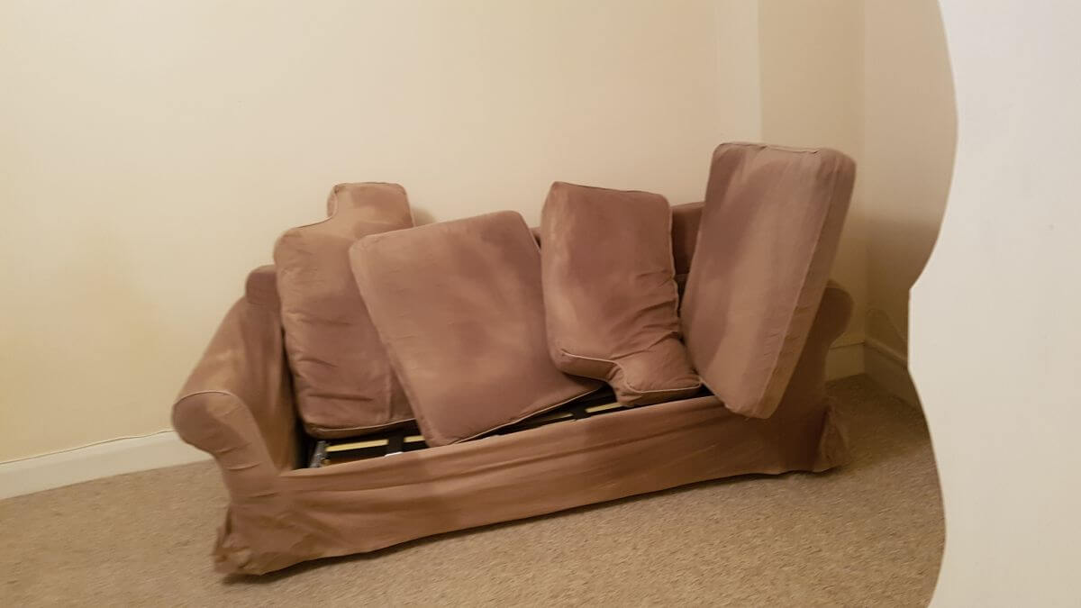EN6 upholstery steam cleaner