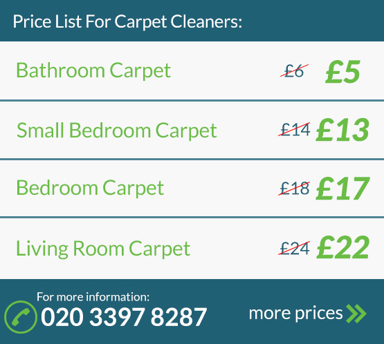 Carpet Cleaning Price List
