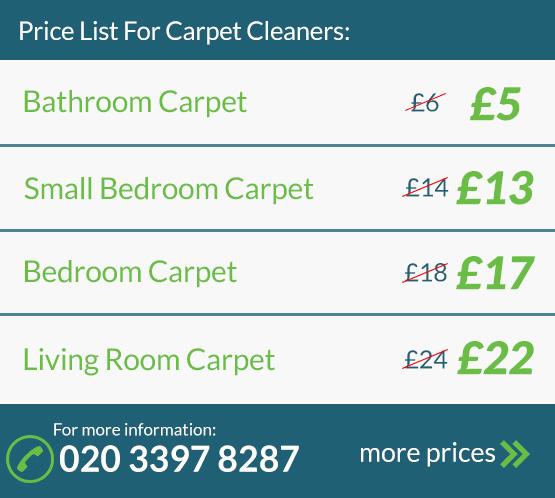 Carpet Cleaning Price List